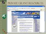 private grant resources5