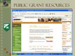 public grant resources5