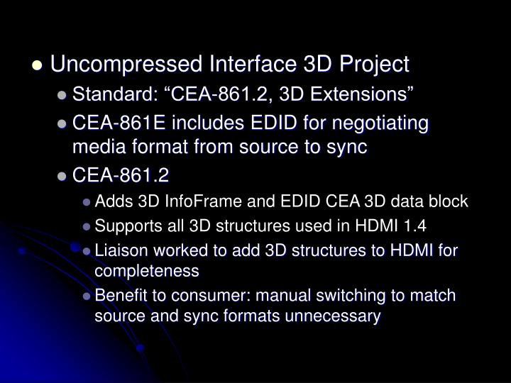 Uncompressed Interface 3D Project