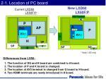 2 1 location of pc board
