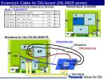 extension cable for dg board 26lx600 series