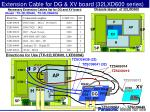 extension cable for dg xv board 32lxd600 series