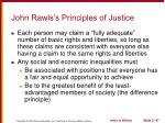 john rawls s principles of justice