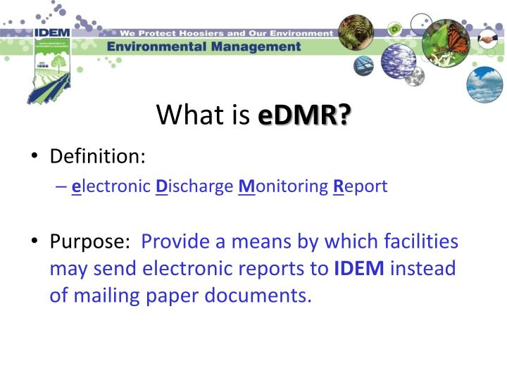 What is edmr