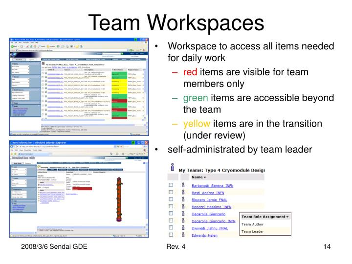 Team Workspaces