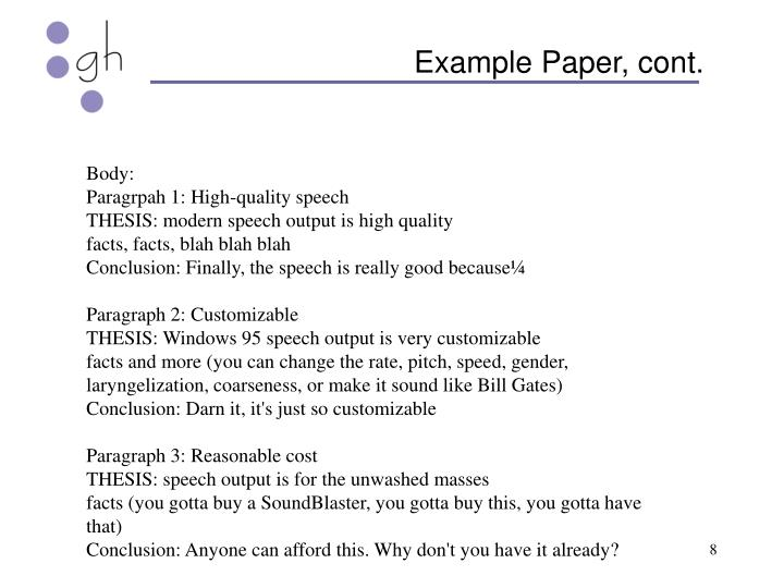Example Paper, cont.
