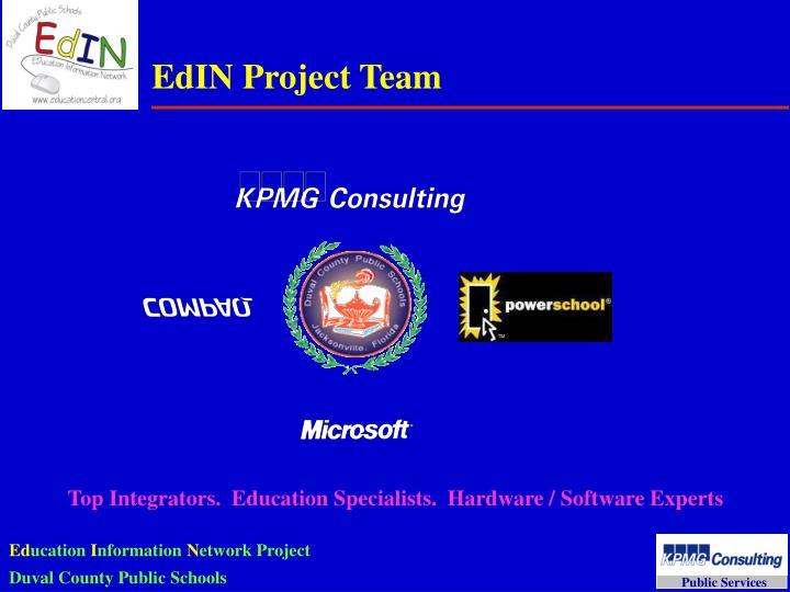 EdIN Project Team
