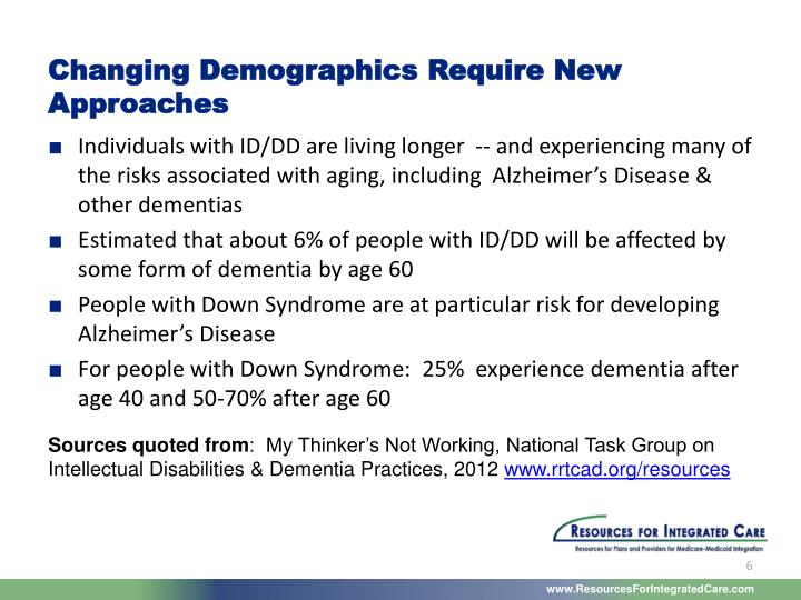 Changing Demographics Require New Approaches