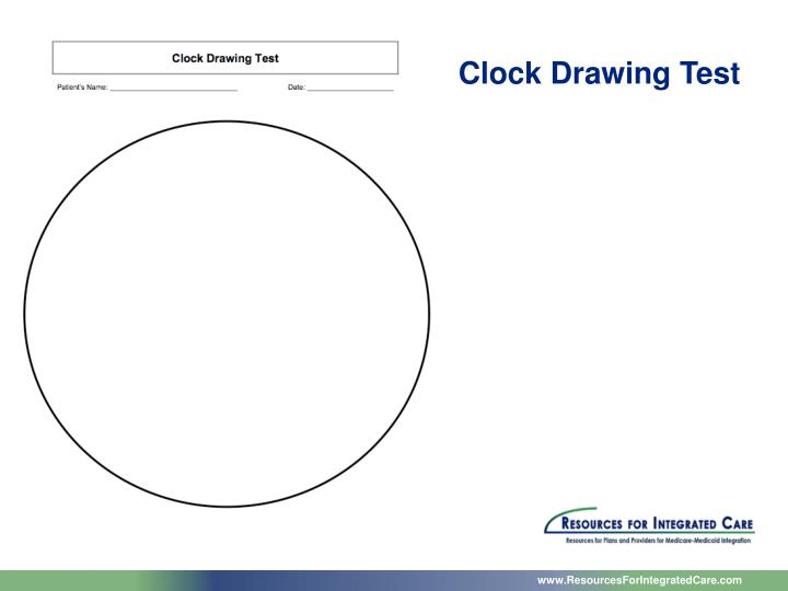 Clock Drawing Test