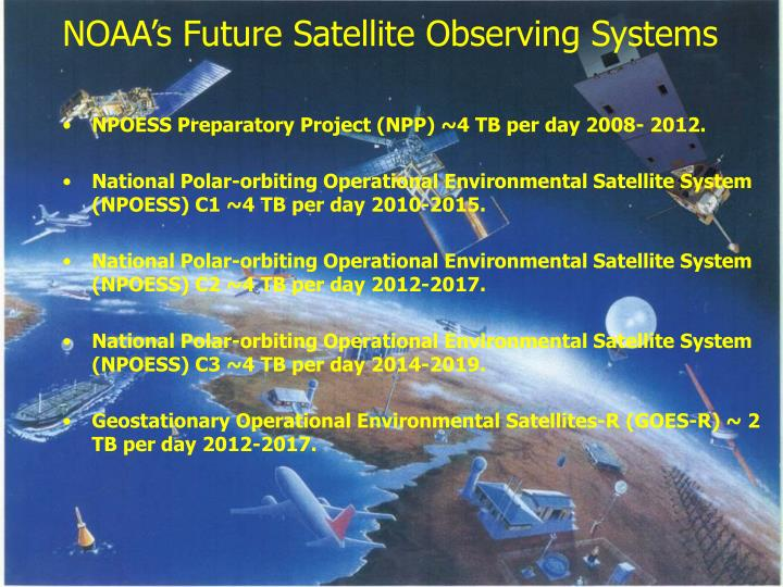 NOAA's Future Satellite Observing Systems