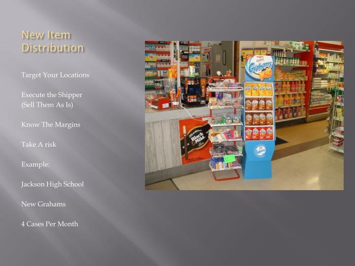 New Item Distribution