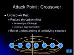 attack point crossover