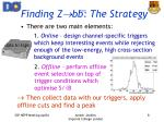 finding z bb the strategy