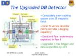 the upgraded d detector