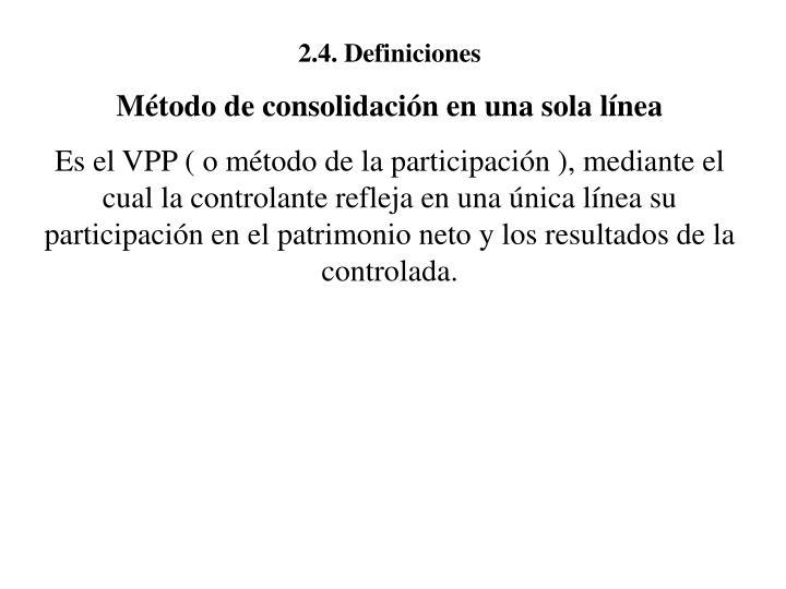 2.4. Definiciones