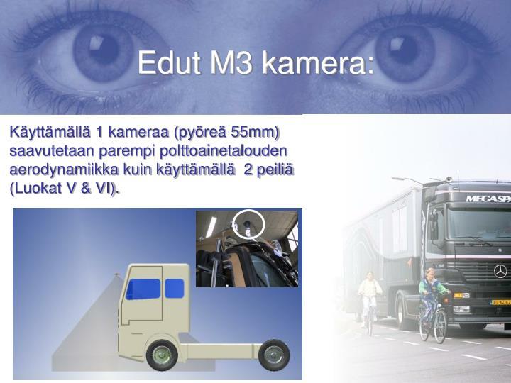 Edut M3 kamera: