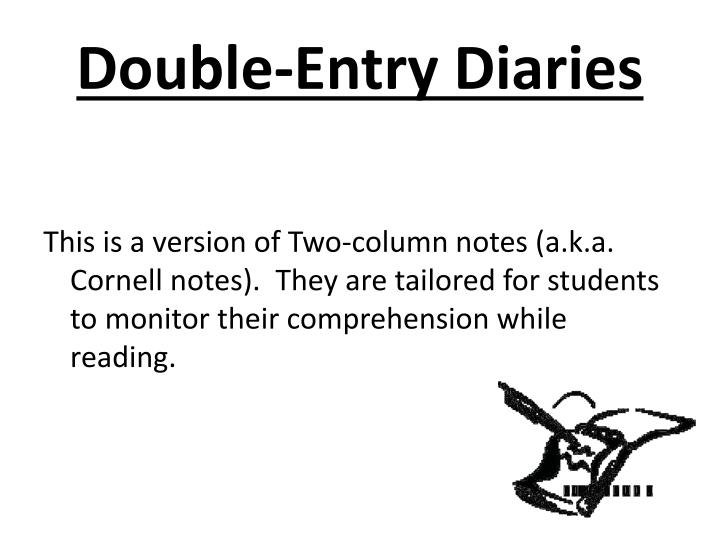 Double-Entry Diaries