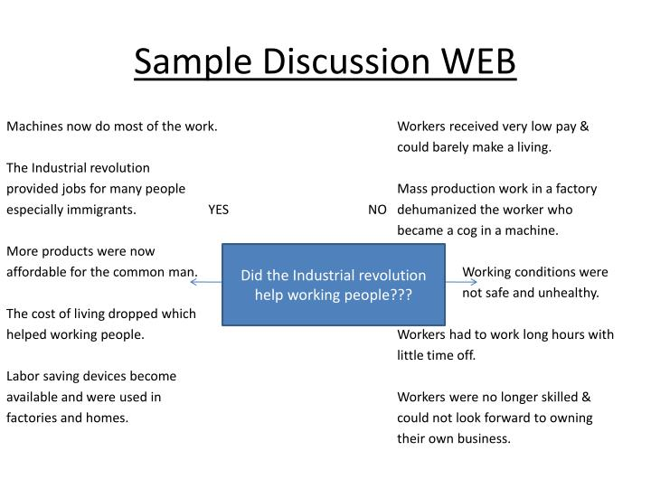 Sample Discussion WEB
