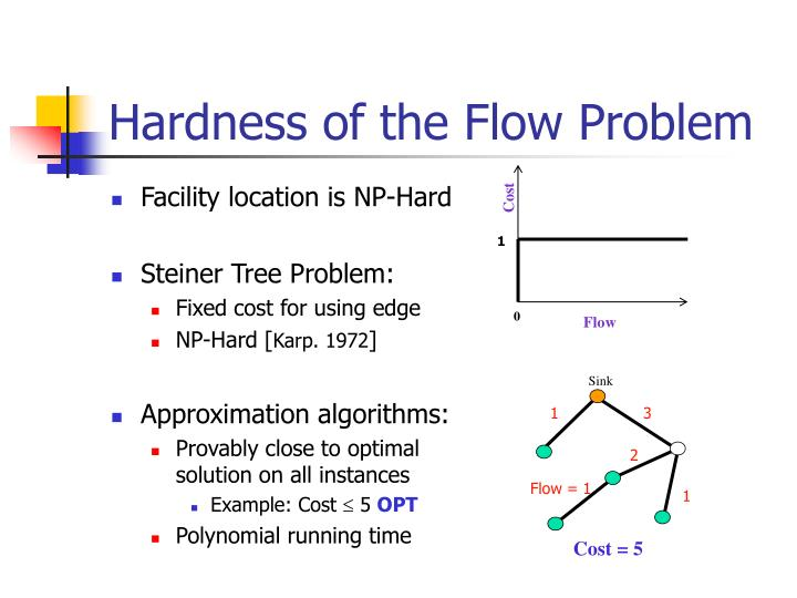 Hardness of the Flow Problem