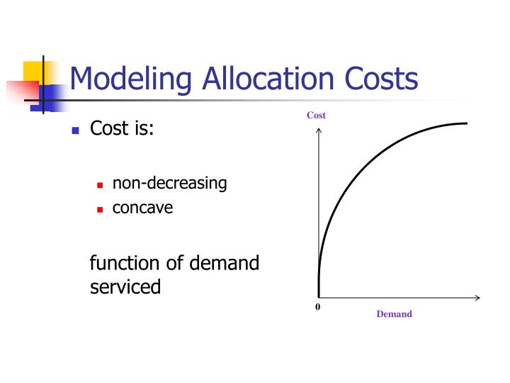 Modeling Allocation Costs