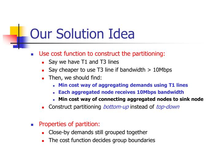 Our Solution Idea
