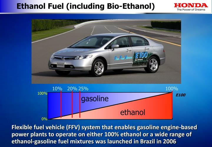 Ethanol Fuel (including Bio-Ethanol)