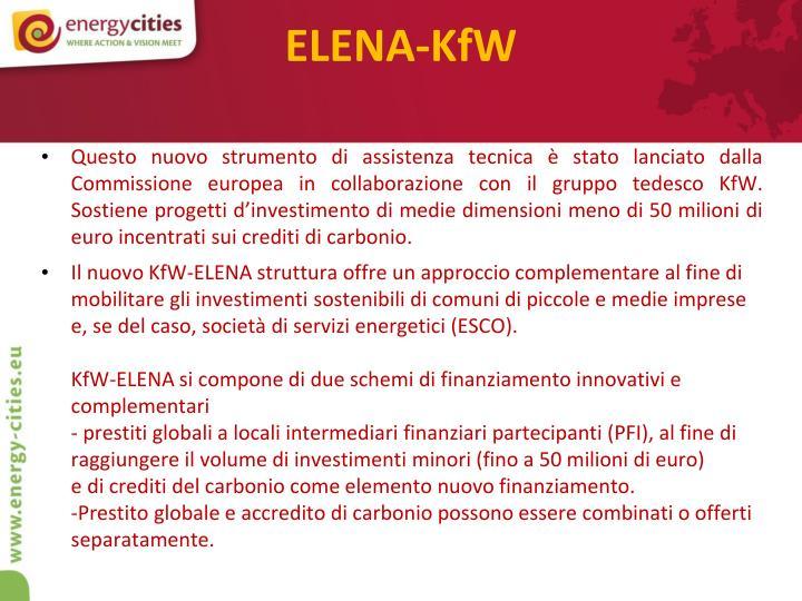 ELENA-KfW