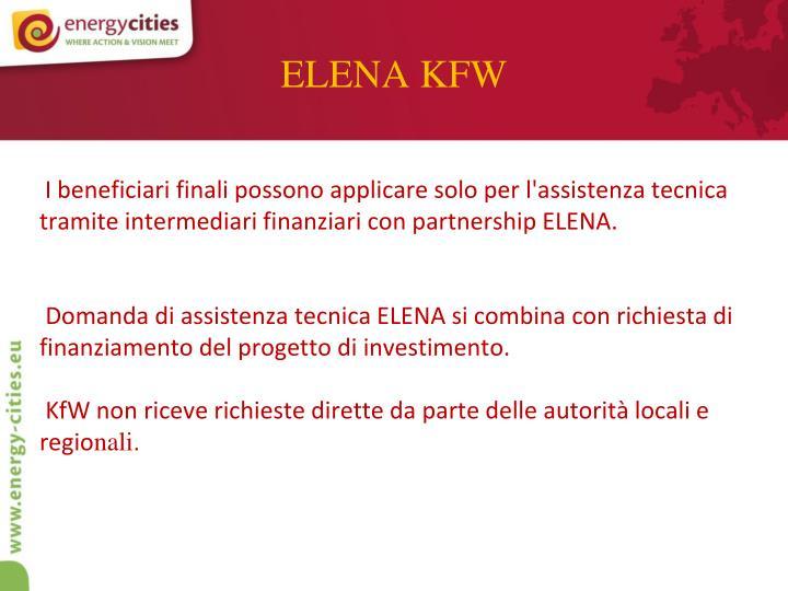 ELENA KFW