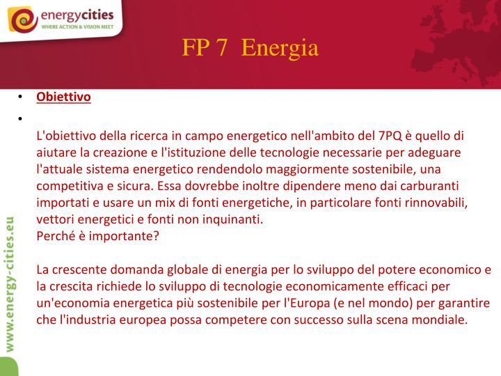 FP 7  Energia