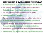 conferencia 3 d francisco michavilla