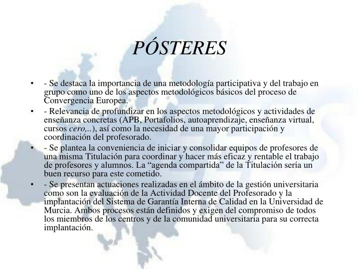 PÓSTERES