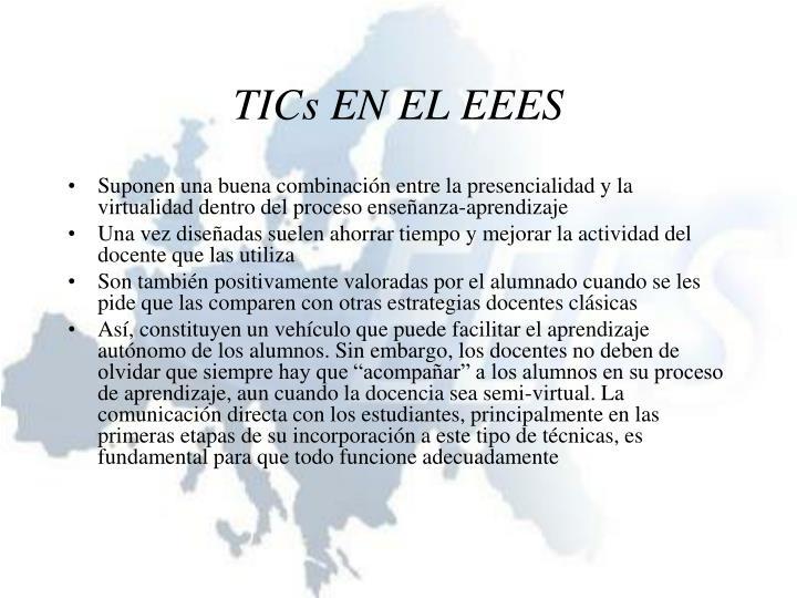 TICs EN EL EEES