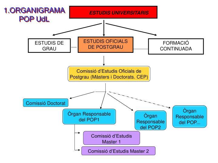 Comissió d'Estudis Oficials de Postgrau (Màsters i Doctorats. CEP)