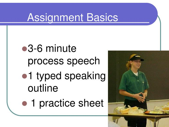 Assignment Basics