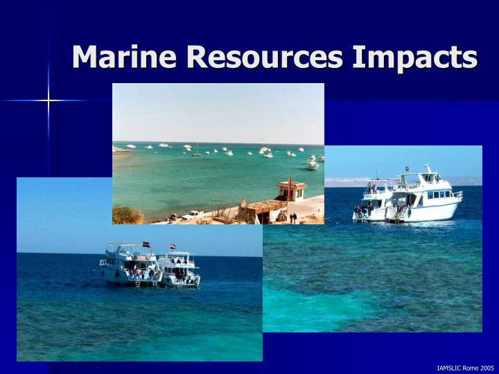Marine Resources Impacts