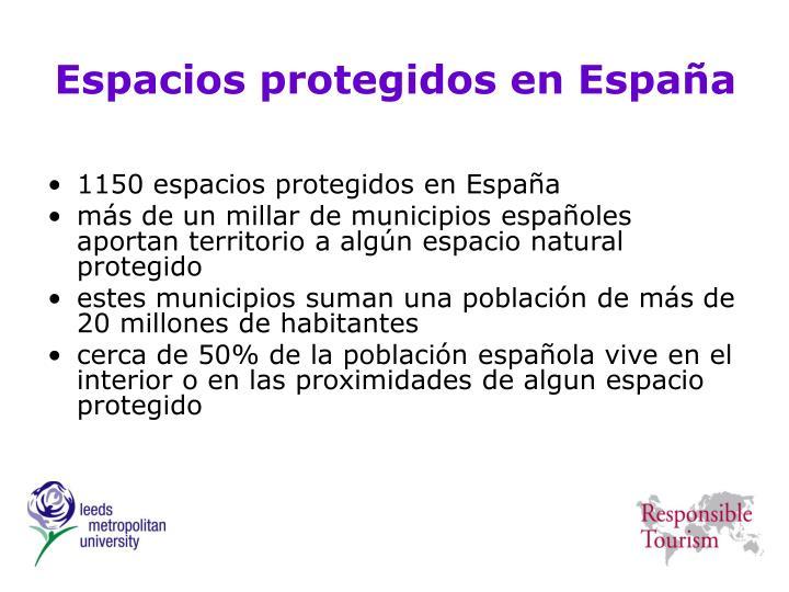 Espacios protegidos en España
