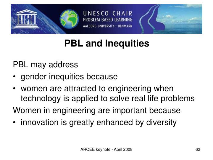 PBL and Inequities