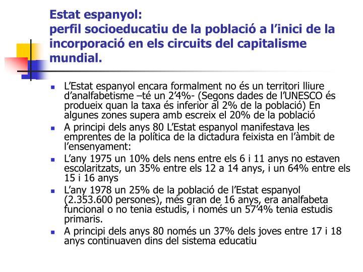 Estat espanyol: