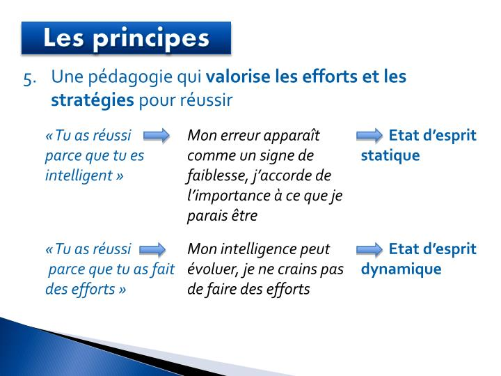 Les principes