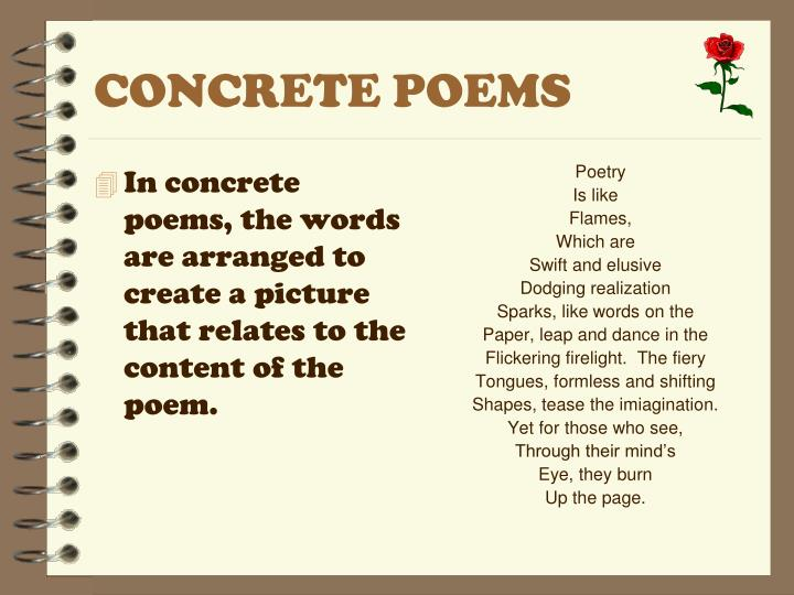 CONCRETE POEMS