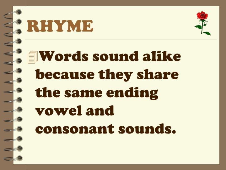 RHYME