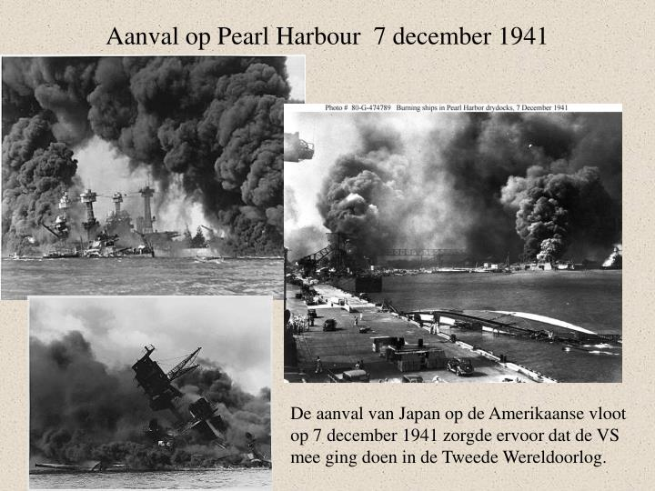 Aanval op Pearl Harbour  7 december 1941
