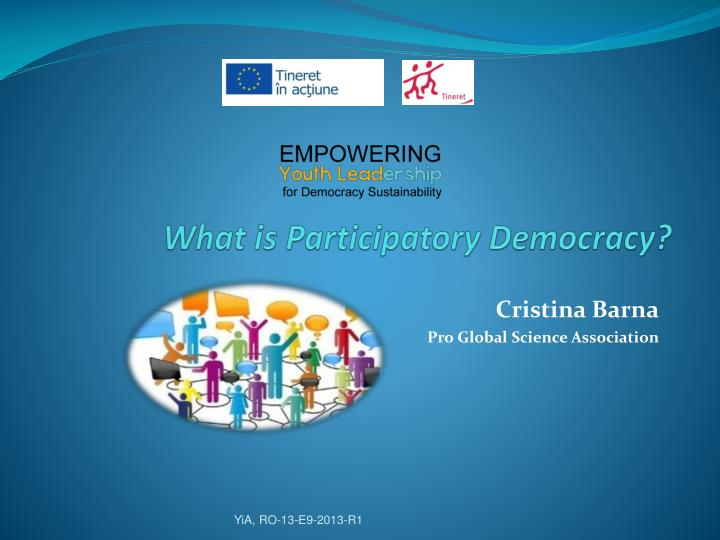What is participatory democracy