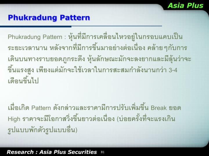 Phukradung Pattern