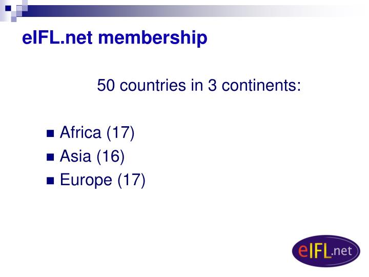 eIFL.net membership
