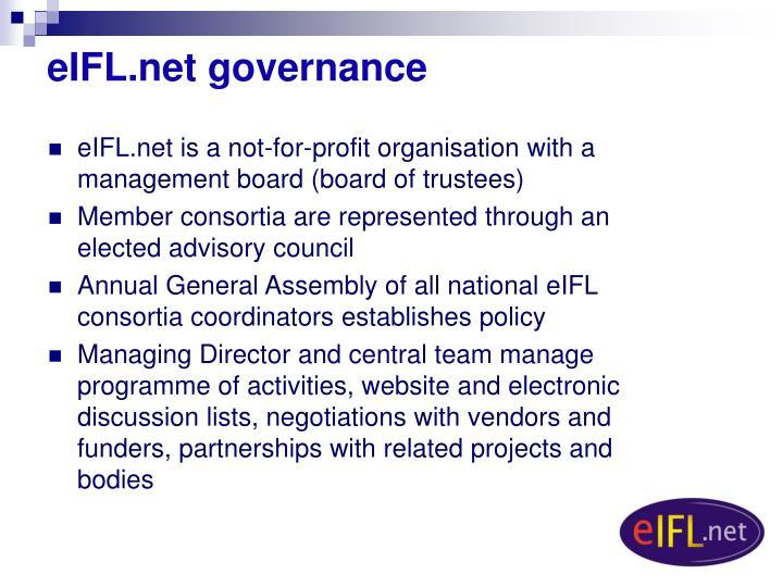 eIFL.net governance