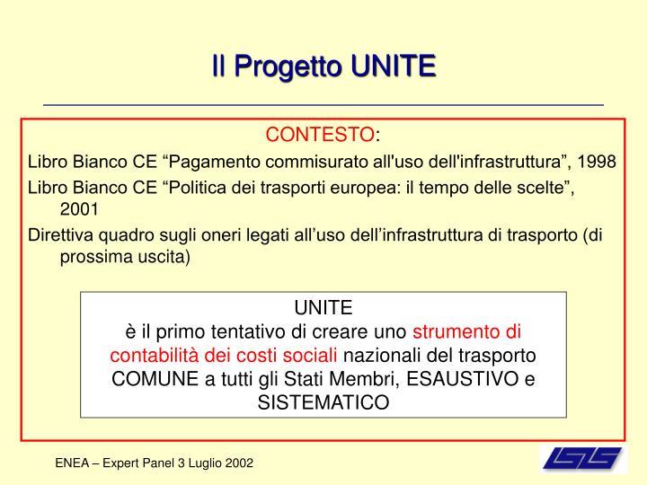 Il Progetto UNITE