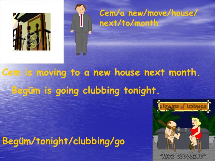 Cem/a new/move/house/