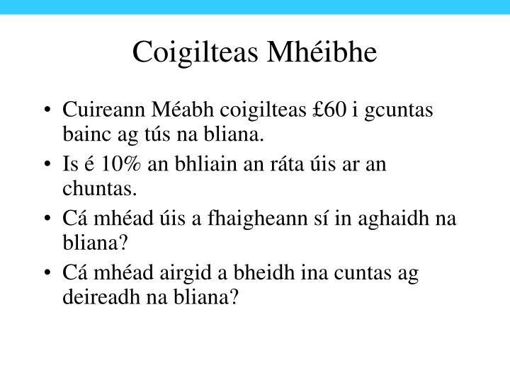 Coigilteas Mhéibhe