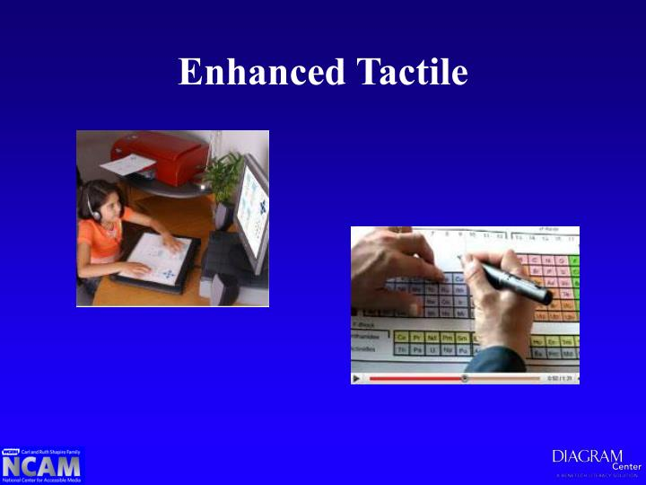 Enhanced Tactile